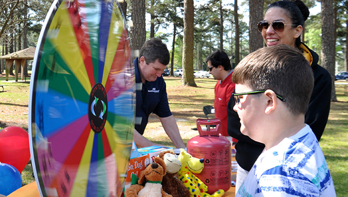 SJAFB celebrates Month of the Military Child