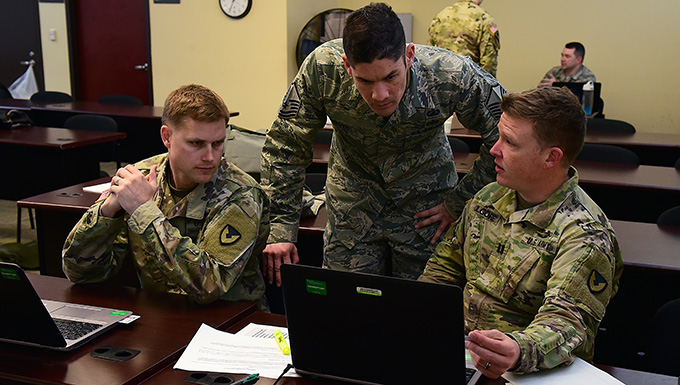 AF, Army conduct joint contracting exercise