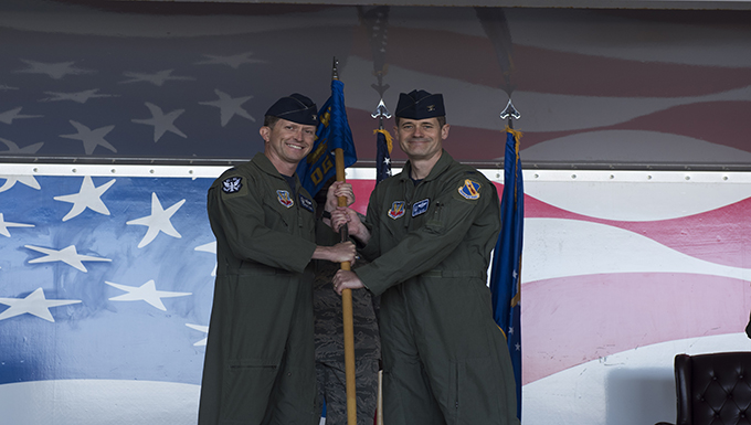 Col. Aaron Meyers takes command of 4th Operations Group