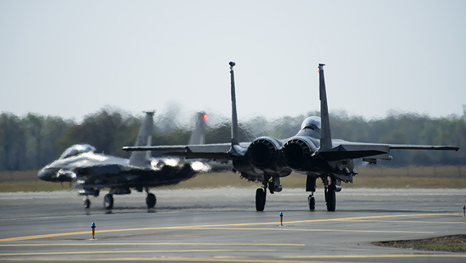 335th FS takes off for Razor Talon
