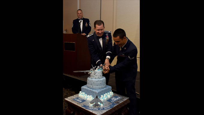 Team Seymour celebrates the AF's 69th birthday