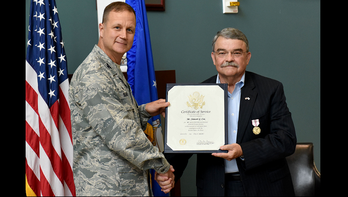 SJAFB bids goodbye to Mr. Cox's 40 years of service