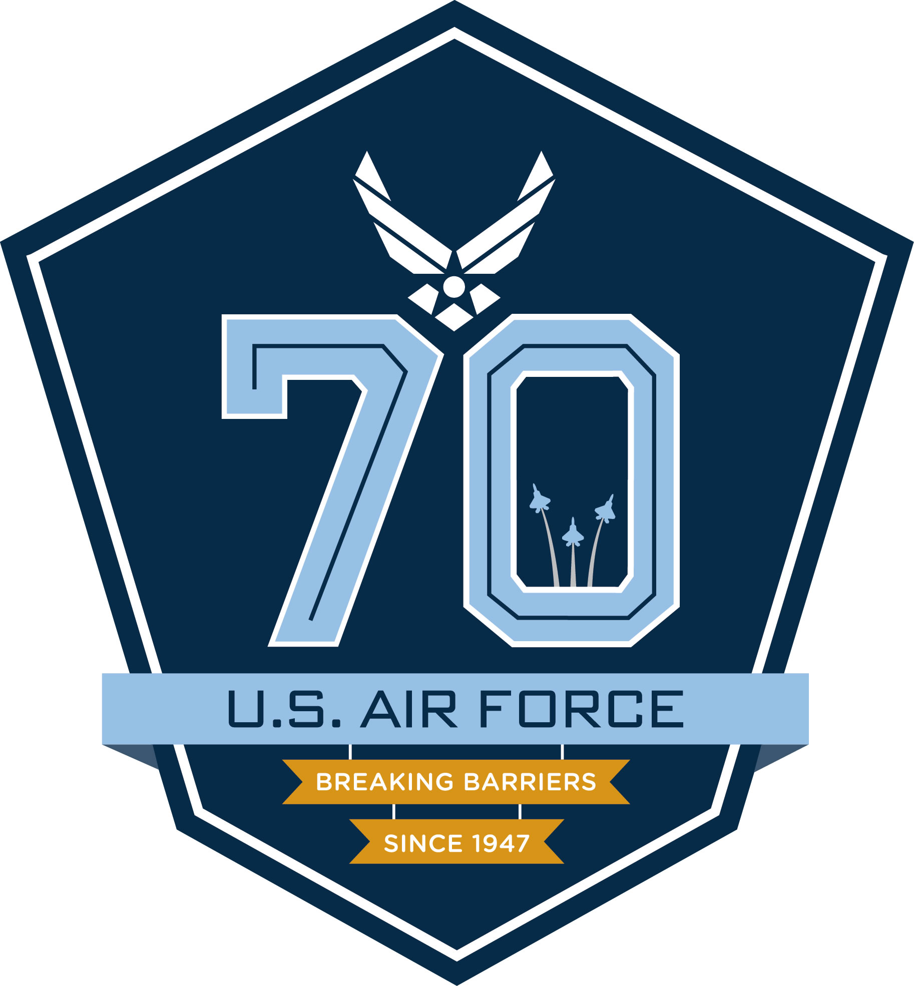 70th Air Force Birthday Logo